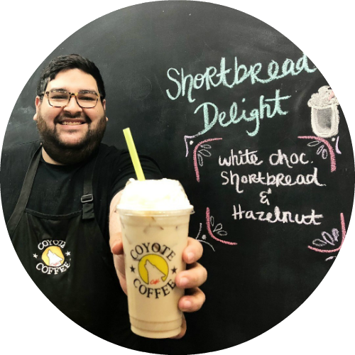 Daniel - Barista drink of the month, Desert Sunset.